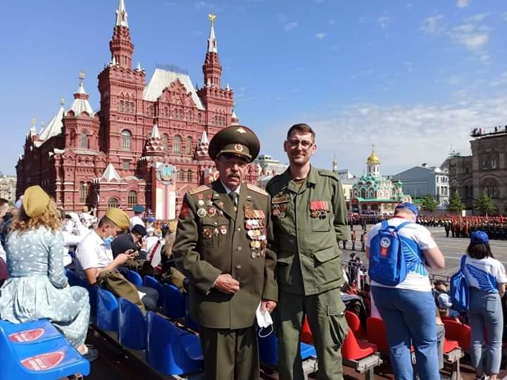 Парад, посвящённый 75-летию Победы